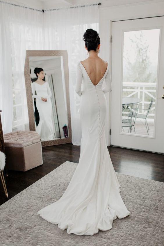 Tak jednoducho, ako sa len dá (minimalizmus v svadobných šatách) - Obrázok č. 66