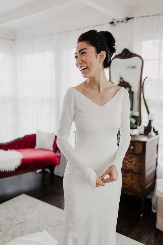 Tak jednoducho, ako sa len dá (minimalizmus v svadobných šatách) - Obrázok č. 67