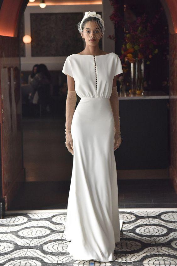 Tak jednoducho, ako sa len dá (minimalizmus v svadobných šatách) - Obrázok č. 68