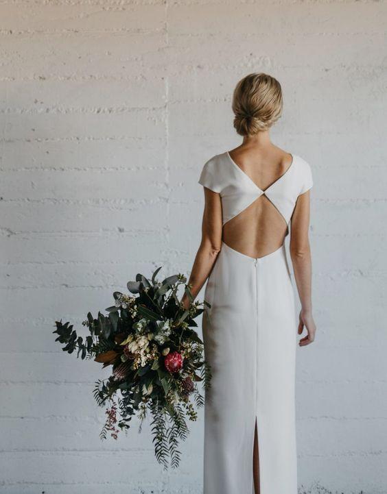 Tak jednoducho, ako sa len dá (minimalizmus v svadobných šatách) - Obrázok č. 70