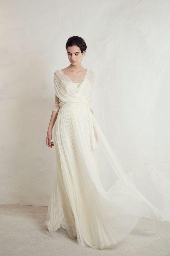 Tak jednoducho, ako sa len dá (minimalizmus v svadobných šatách) - Obrázok č. 72