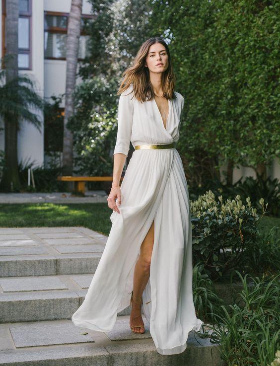 Tak jednoducho, ako sa len dá (minimalizmus v svadobných šatách) - Obrázok č. 73