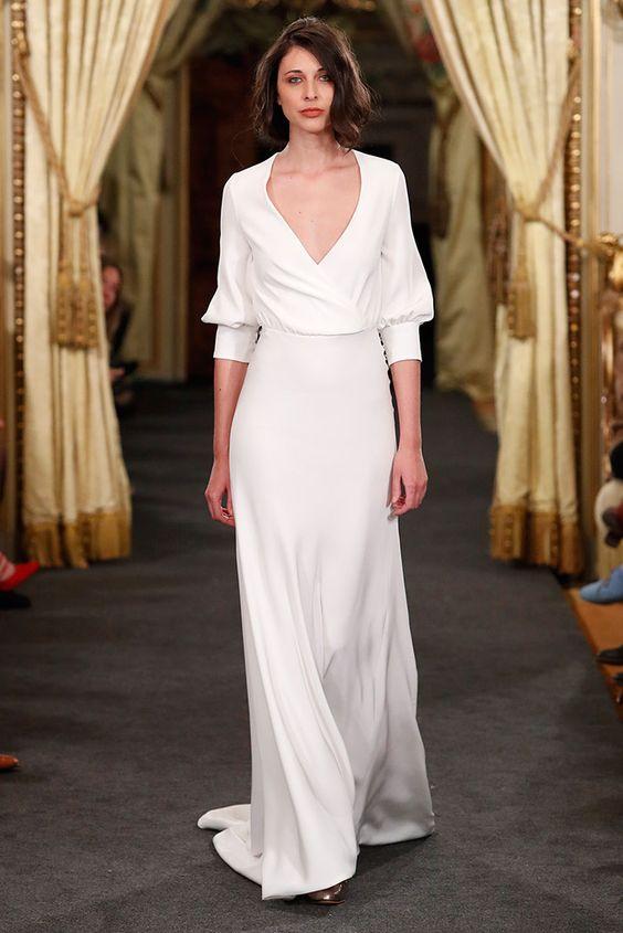 Tak jednoducho, ako sa len dá (minimalizmus v svadobných šatách) - Obrázok č. 74