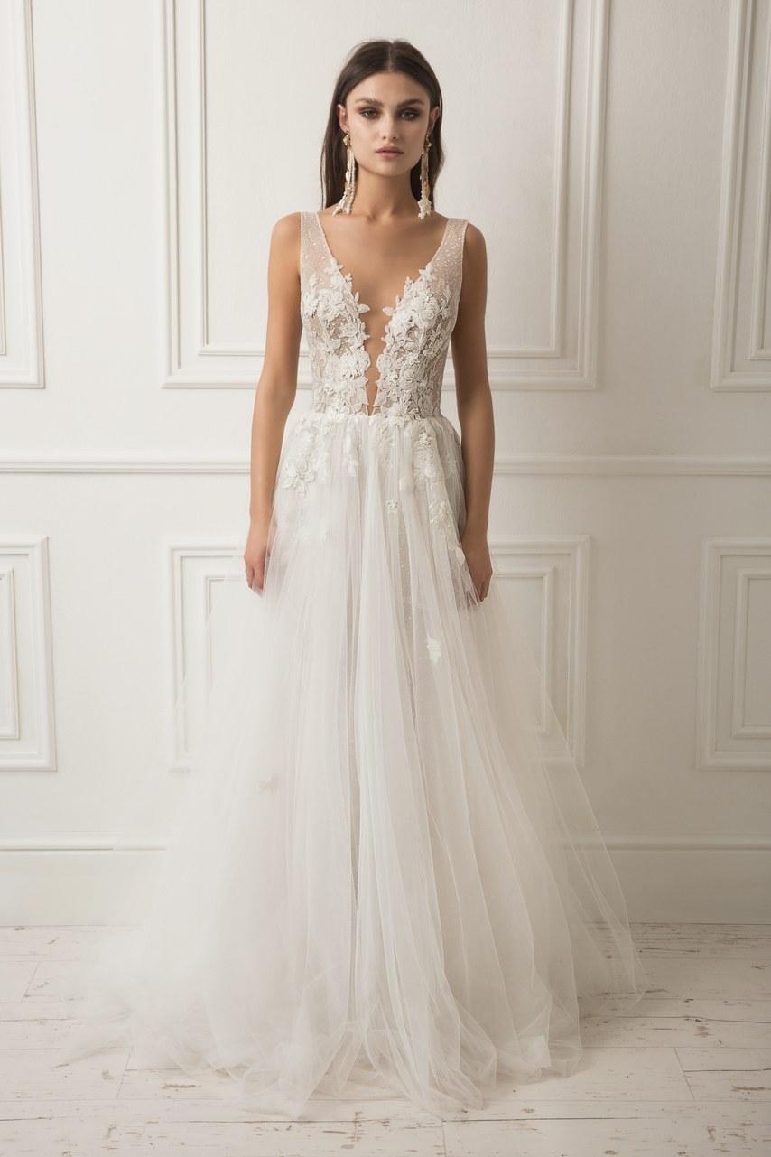 Svadobné šaty z kolekcií na rok 2019 - Obrázok č. 1
