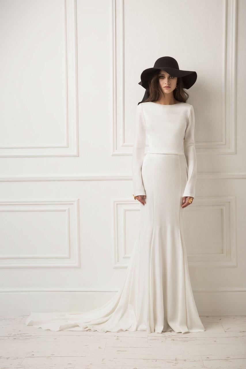 Svadobné šaty z kolekcií na rok 2019 - Obrázok č. 2
