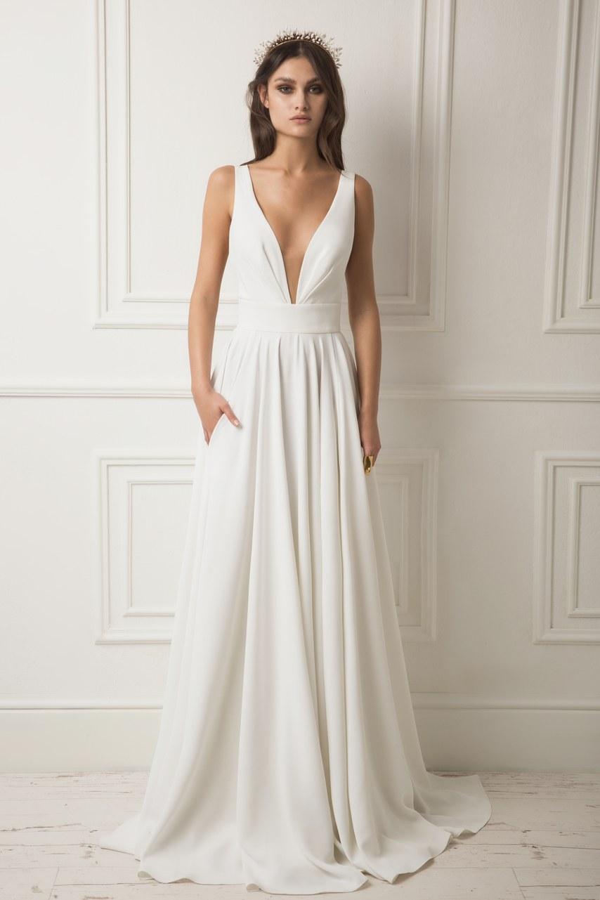 Svadobné šaty z kolekcií na rok 2019 - Obrázok č. 3