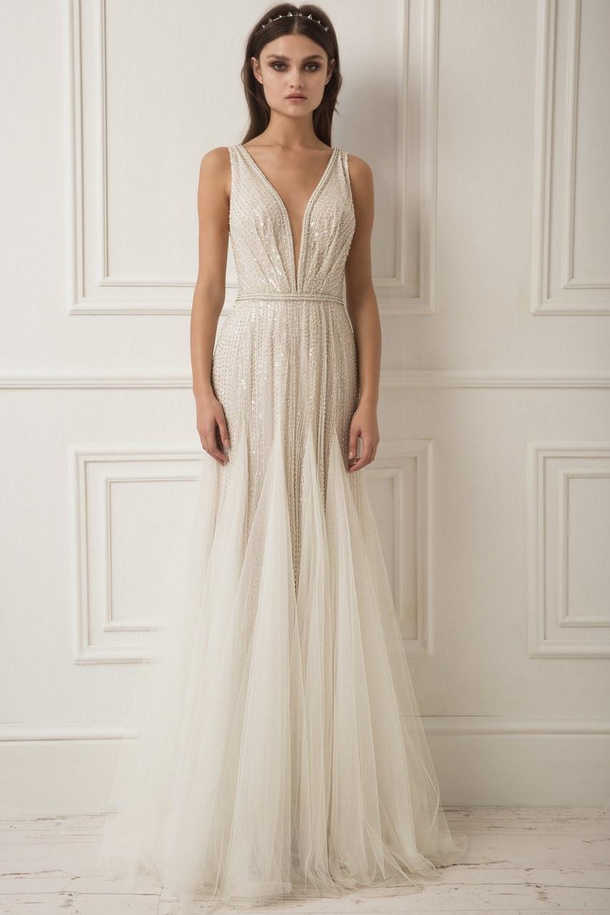 Svadobné šaty z kolekcií na rok 2019 - Obrázok č. 6