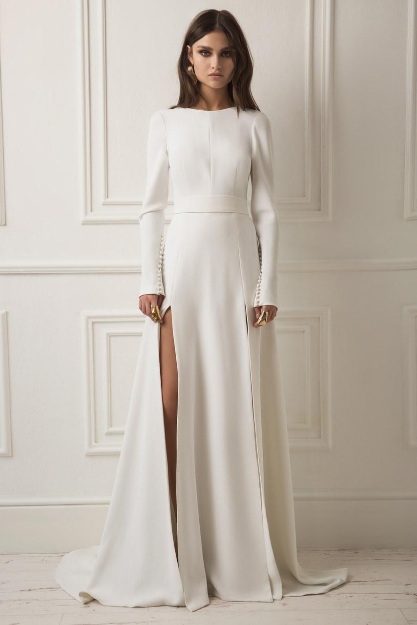 Svadobné šaty z kolekcií na rok 2019 - Obrázok č. 7