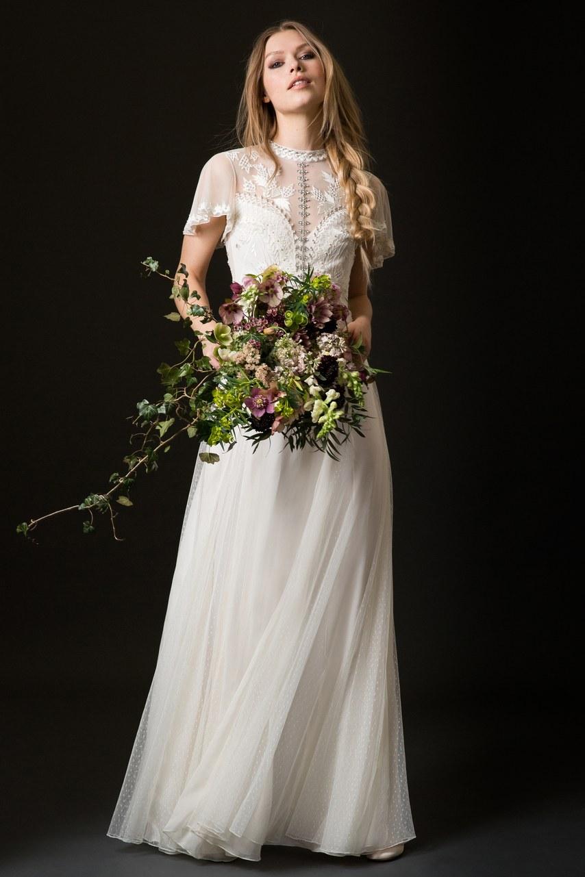 Svadobné šaty z kolekcií na rok 2019 - Obrázok č. 19