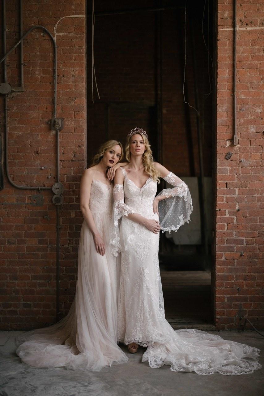 Svadobné šaty z kolekcií na rok 2019 - Obrázok č. 23