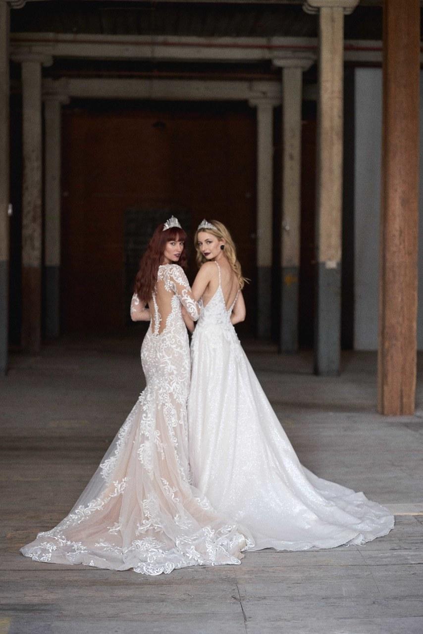 Svadobné šaty z kolekcií na rok 2019 - Obrázok č. 24