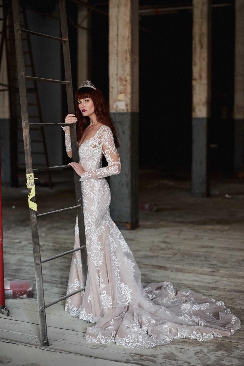 Svadobné šaty z kolekcií na rok 2019 - Obrázok č. 25
