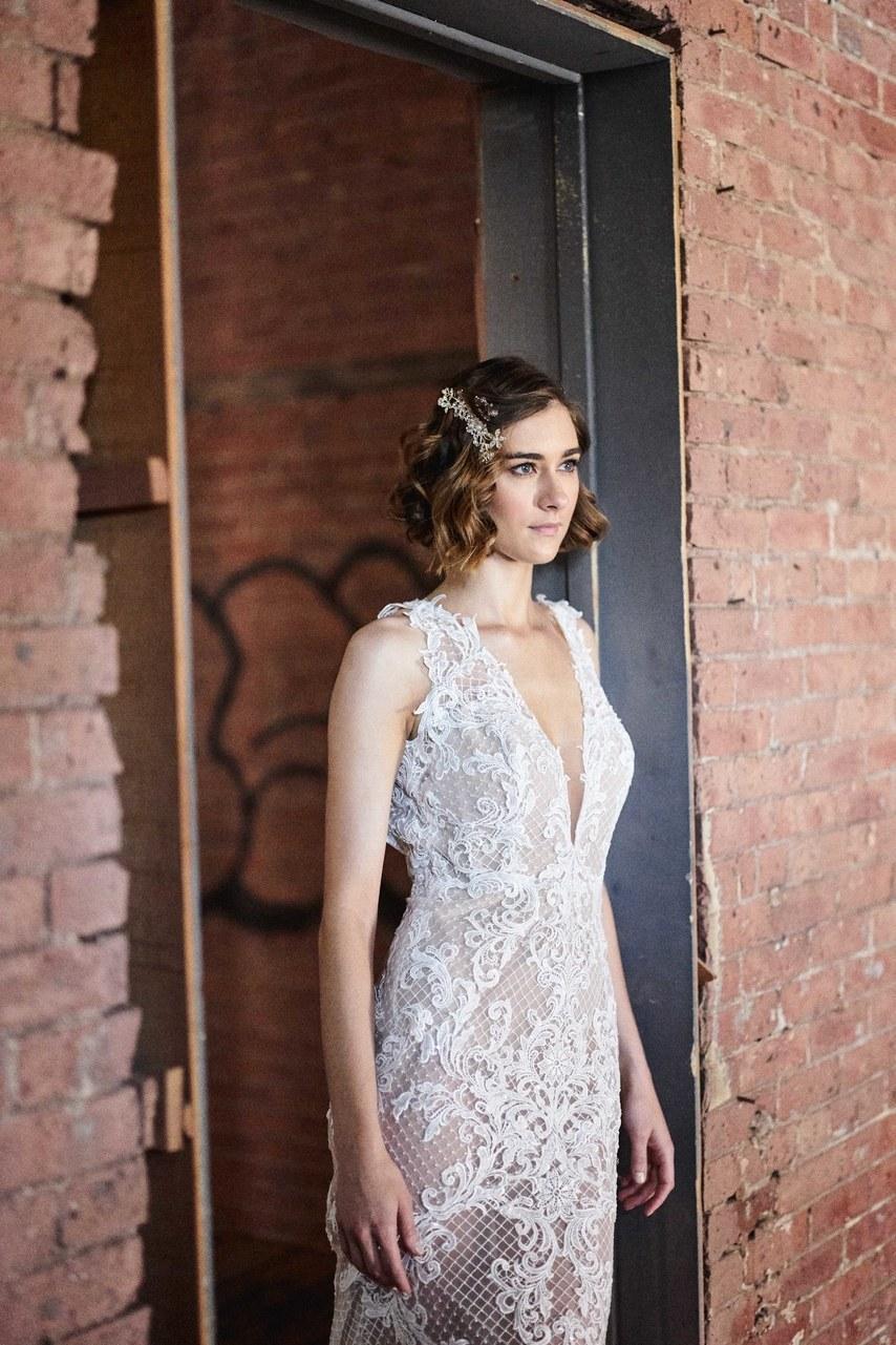 Svadobné šaty z kolekcií na rok 2019 - Obrázok č. 29