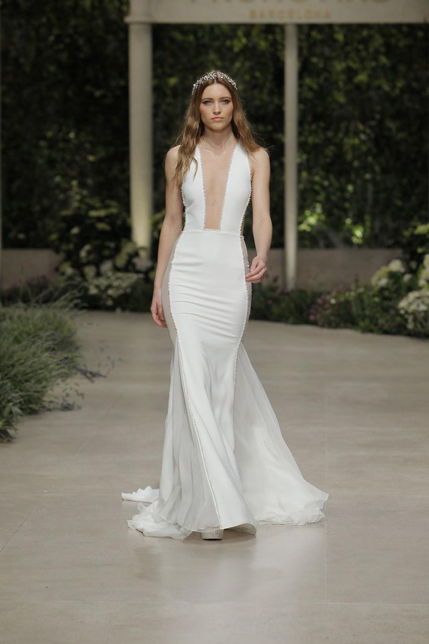 Svadobné šaty z kolekcií na rok 2019 - Obrázok č. 47