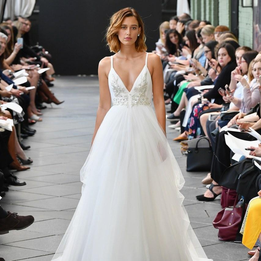 Svadobné šaty z kolekcií na rok 2019 - Obrázok č. 72
