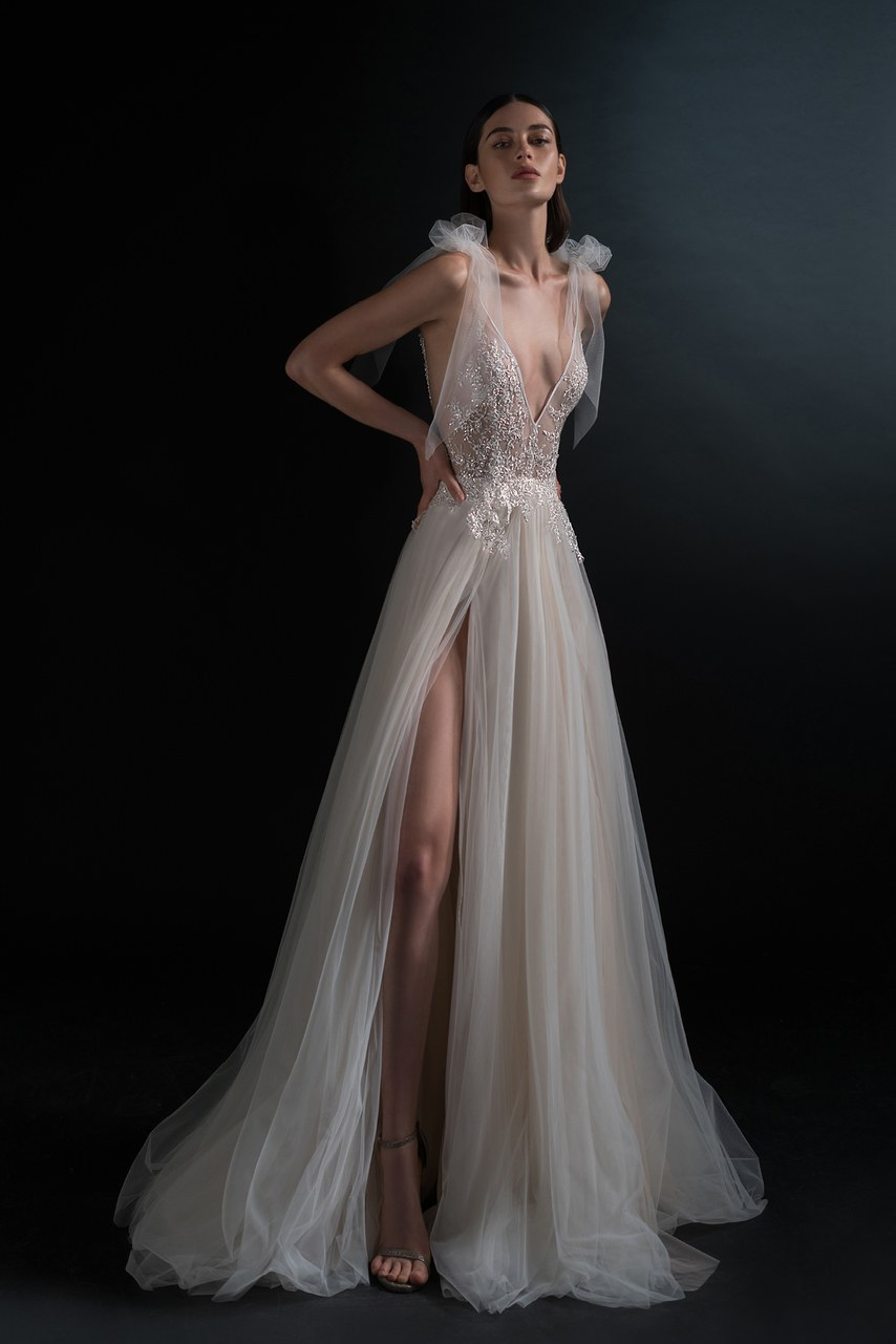 Svadobné šaty z kolekcií na rok 2019 - Obrázok č. 73