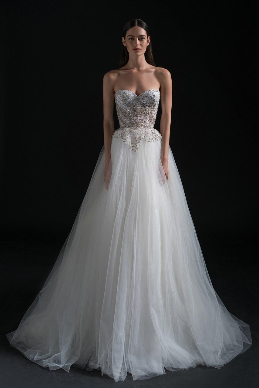 Svadobné šaty z kolekcií na rok 2019 - Obrázok č. 74