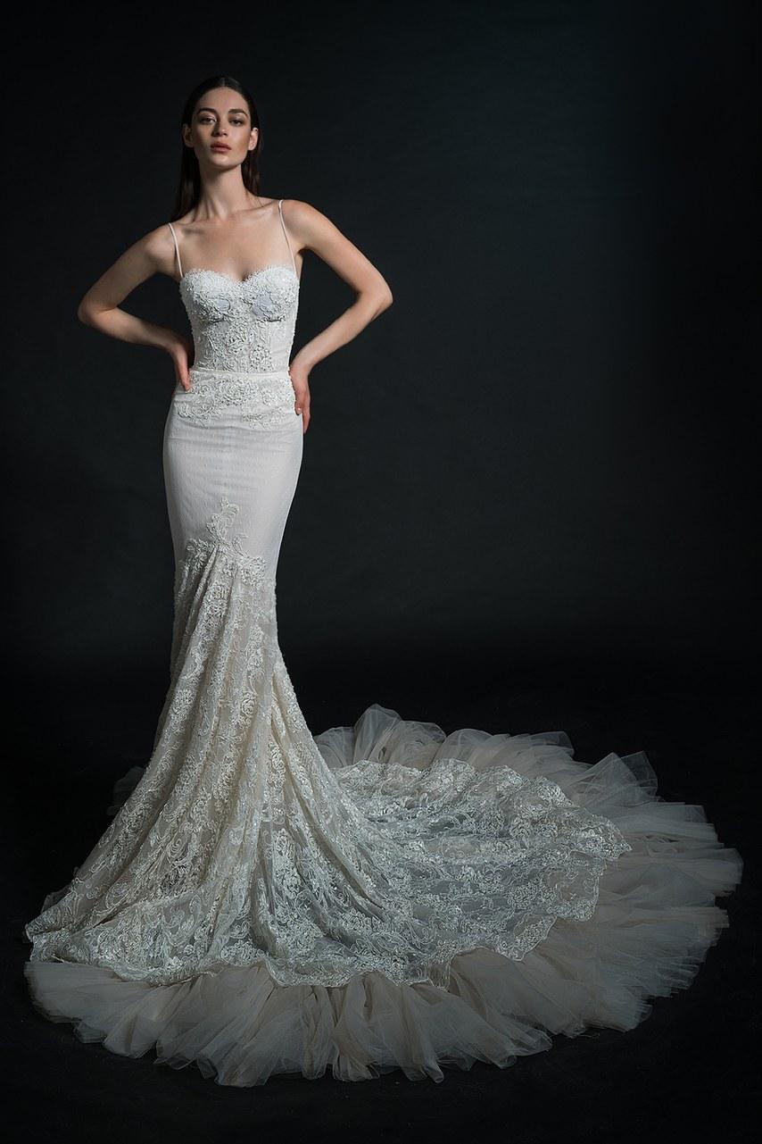 Svadobné šaty z kolekcií na rok 2019 - Obrázok č. 77