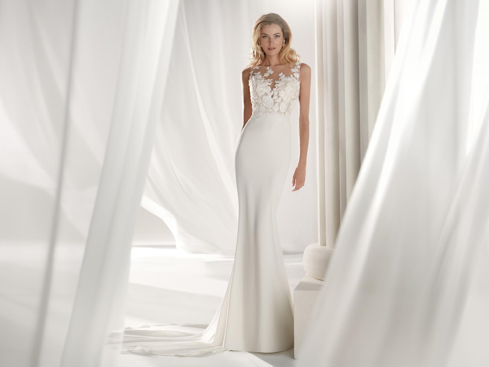 Svadobné šaty z kolekcií na rok 2019 - Obrázok č. 78