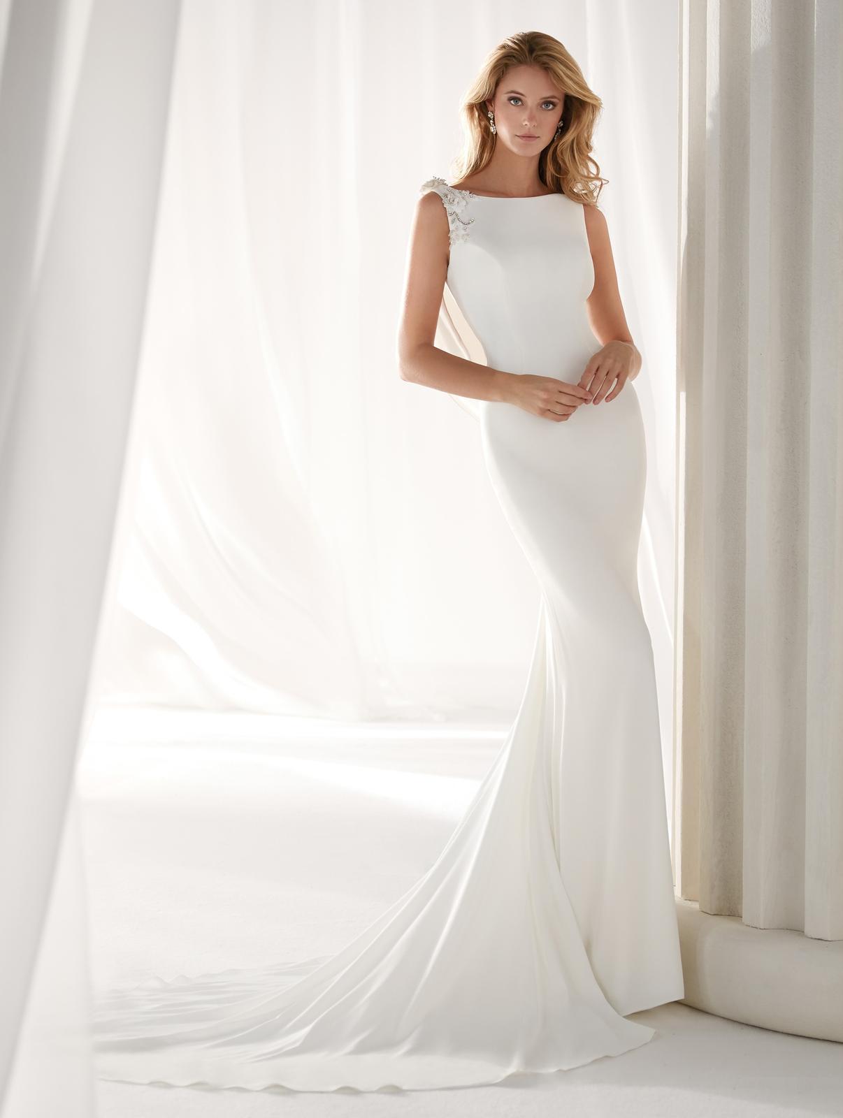Svadobné šaty z kolekcií na rok 2019 - Obrázok č. 80