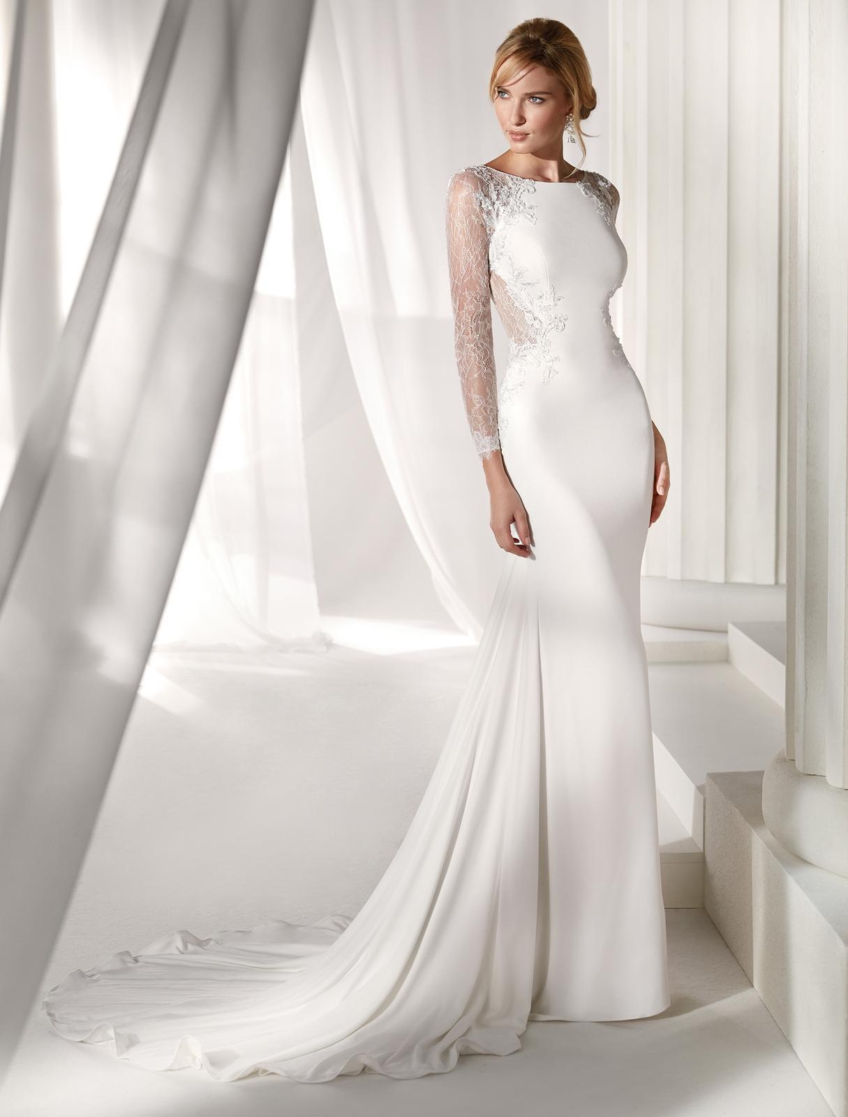 Svadobné šaty z kolekcií na rok 2019 - Obrázok č. 83