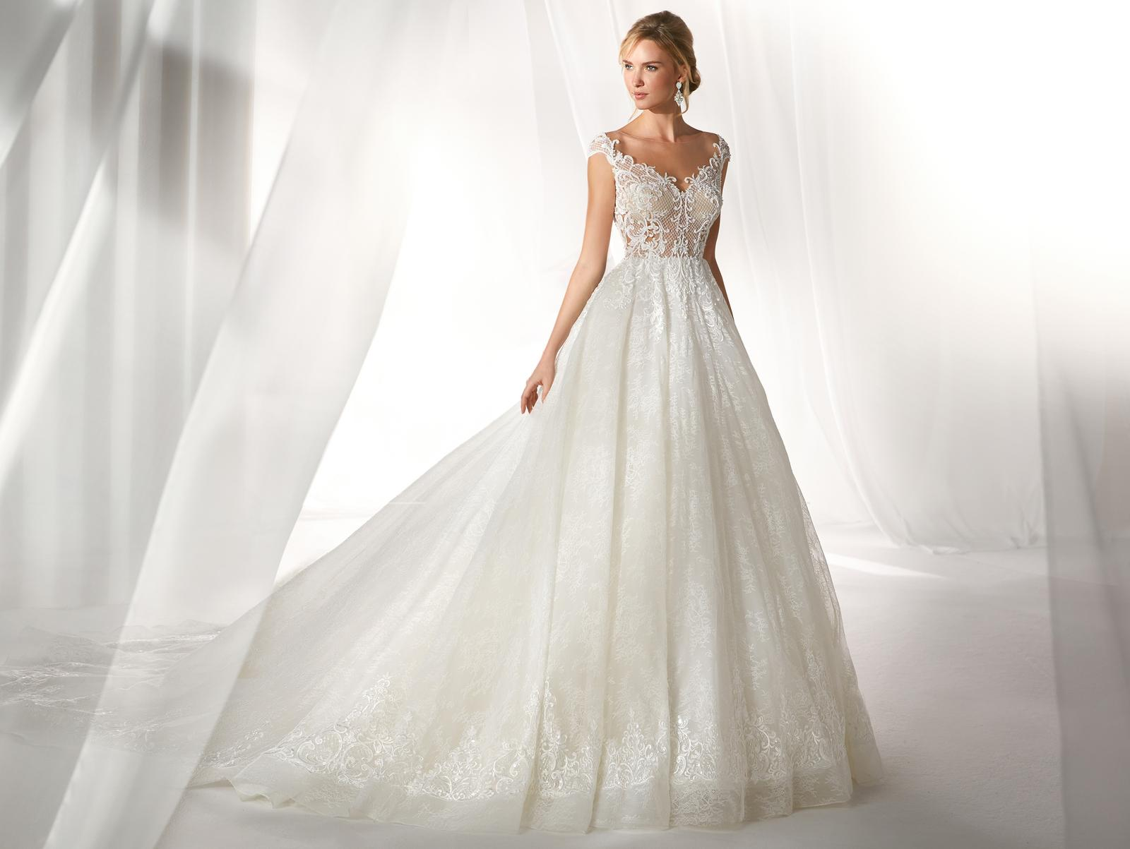 Svadobné šaty z kolekcií na rok 2019 - Obrázok č. 84