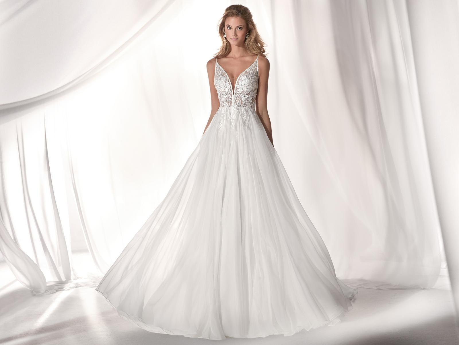 Svadobné šaty z kolekcií na rok 2019 - Obrázok č. 85