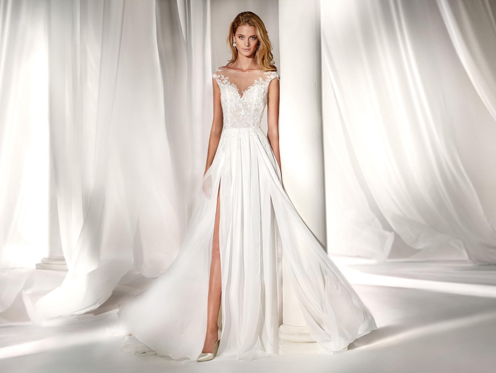 Svadobné šaty z kolekcií na rok 2019 - Obrázok č. 86