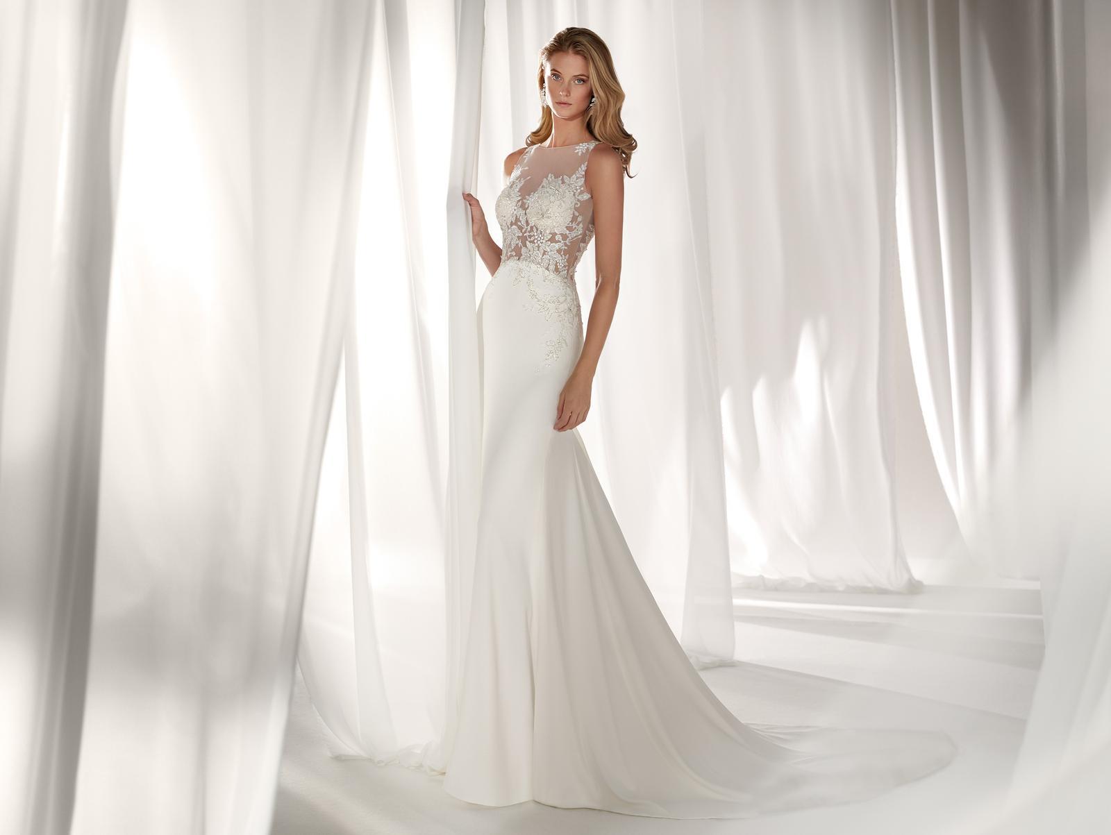 Svadobné šaty z kolekcií na rok 2019 - Obrázok č. 87