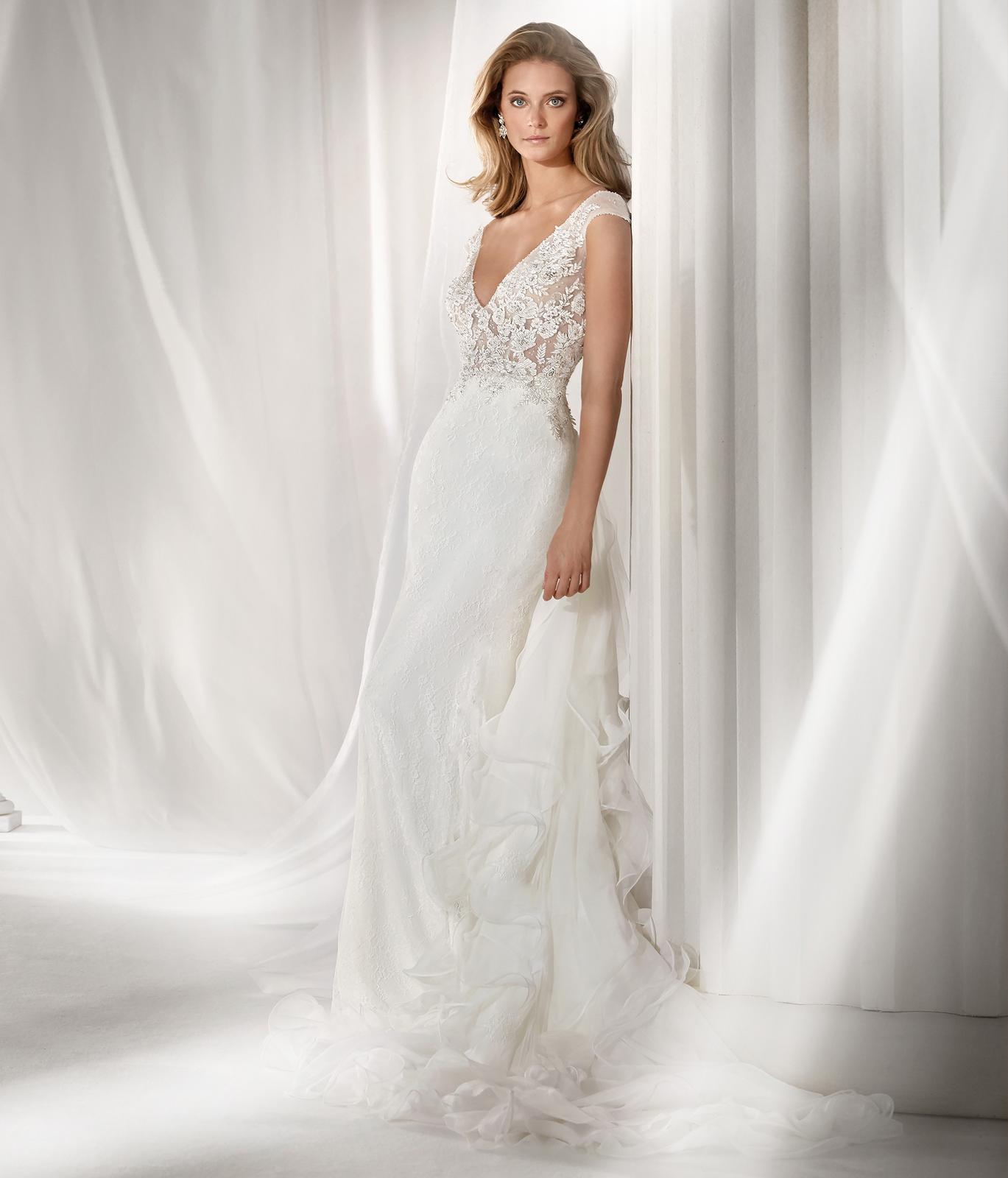 Svadobné šaty z kolekcií na rok 2019 - Obrázok č. 88