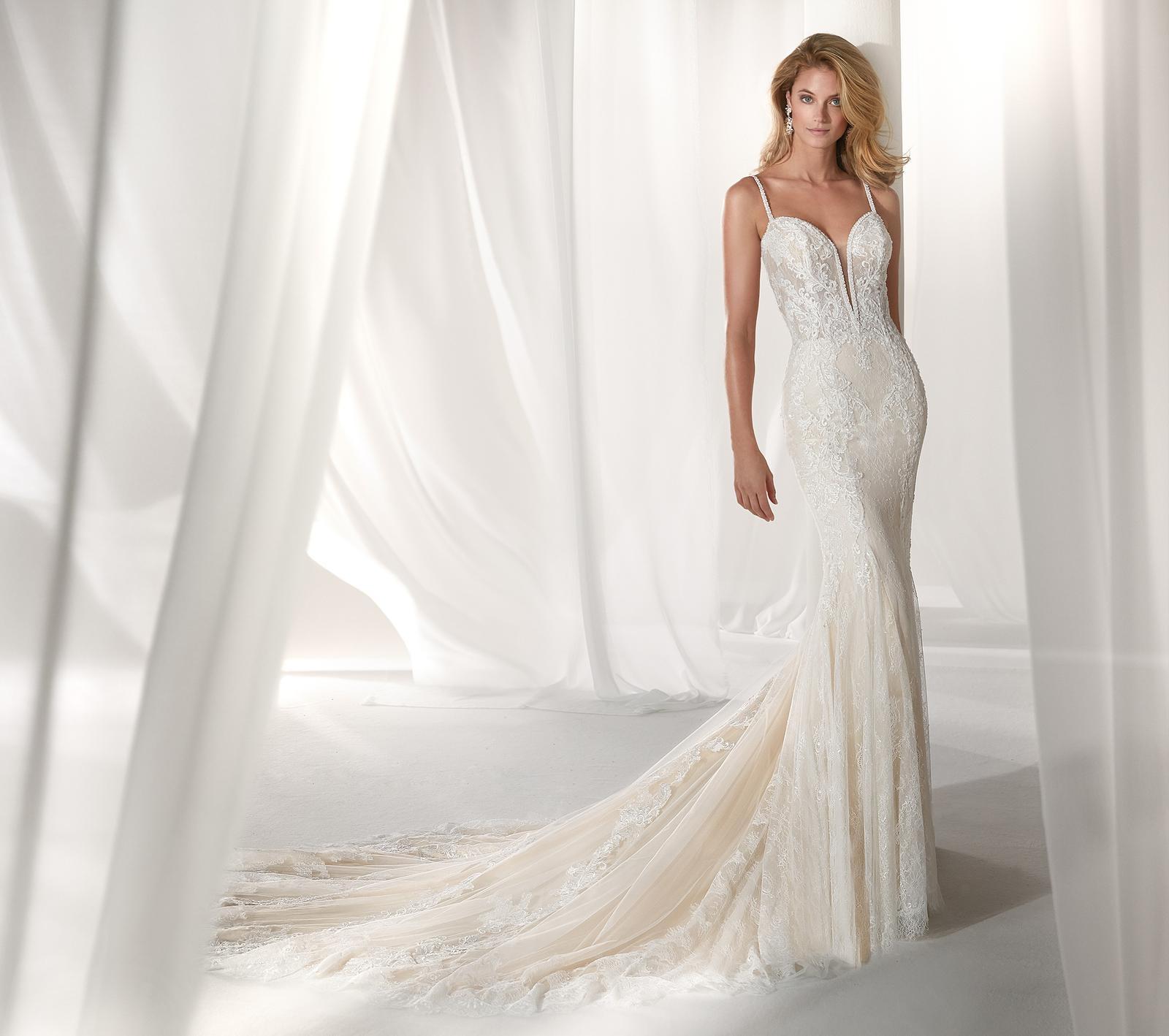 Svadobné šaty z kolekcií na rok 2019 - Obrázok č. 90