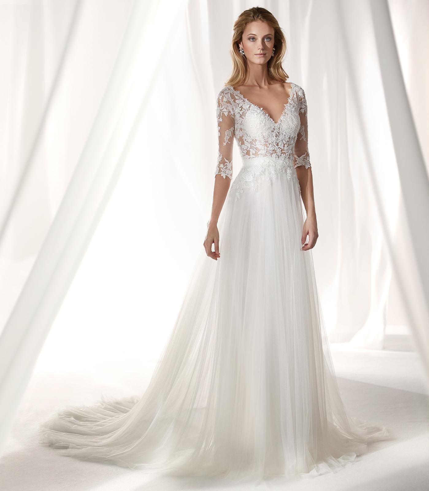 Svadobné šaty z kolekcií na rok 2019 - Obrázok č. 91