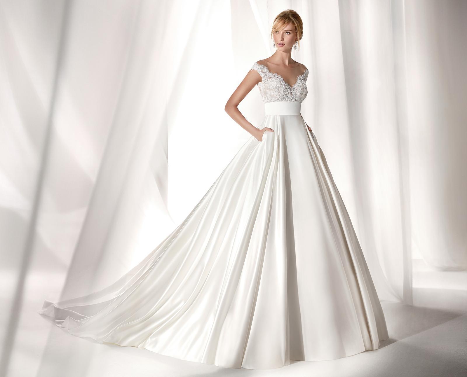 Svadobné šaty z kolekcií na rok 2019 - Obrázok č. 94