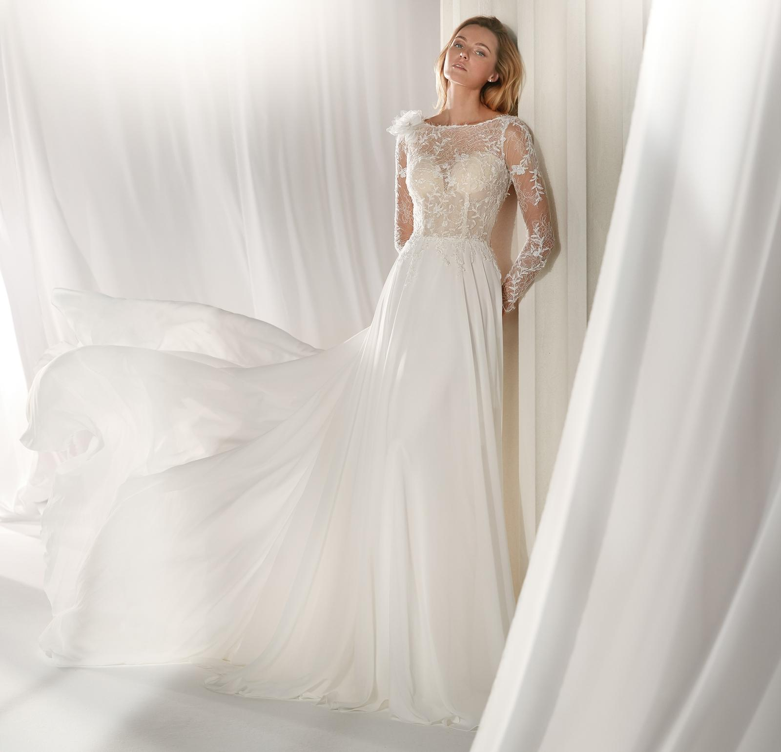 Svadobné šaty z kolekcií na rok 2019 - Obrázok č. 96