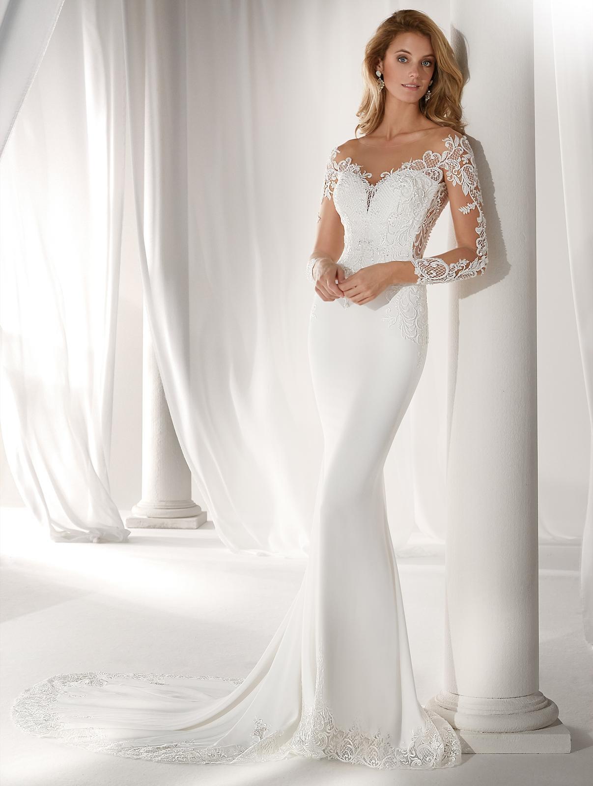 Svadobné šaty z kolekcií na rok 2019 - Obrázok č. 97