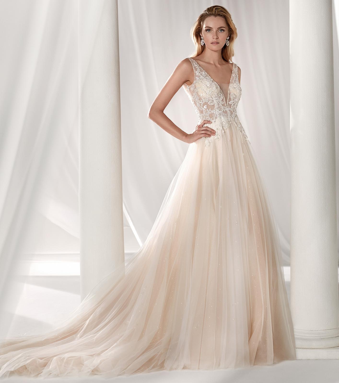Svadobné šaty z kolekcií na rok 2019 - Obrázok č. 99