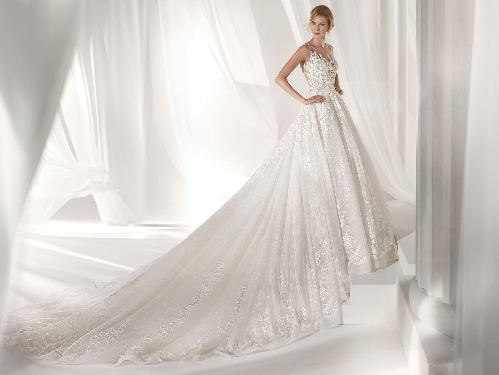 Svadobné šaty z kolekcií na rok 2019 - Obrázok č. 100