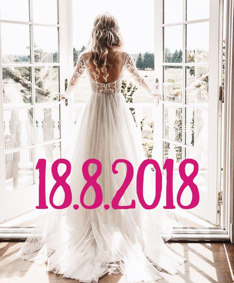 Najobľúbenejší svadobný deň tohto roka je skoro tu ❤️ Zajtra má svadbu až 89 neviest z vás! A určite je vás aj viac, len ste si nezadali vo svojom profile dátum svadby, tak o vás neviem :) poriadne si to užite, nestresujte sa, to najdôležitejšie určite máte zariadené a všetko ostatné sú len detaily, ktoré budete vidieť len vy. A pamätajte na to, že ak si večer ľahnete do postele s človekom, ktorého milujete a s ktorým ste si cez deň povedali áno, tak dopadlo všetko tak, ako malo :) majte ten najkrajší svadobný deň! - Obrázok č. 1