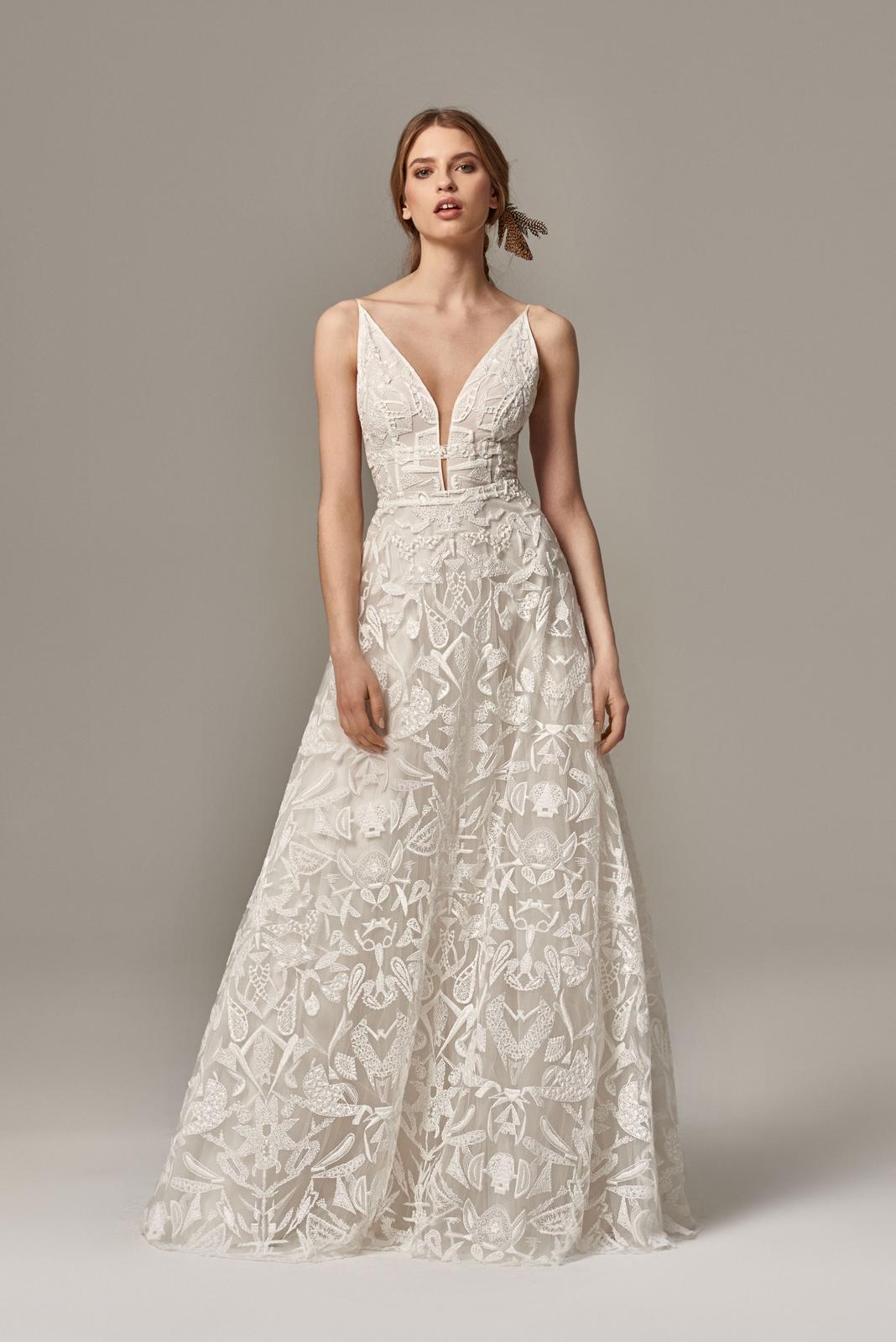 Anna Kara * Svadobné šaty z kolekcií na rok 2019 - Obrázok č. 12