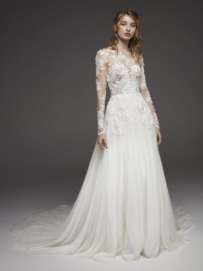 Atelier Pronovias * Svadobné šaty z kolekcií na rok 2019 - Obrázok č. 3