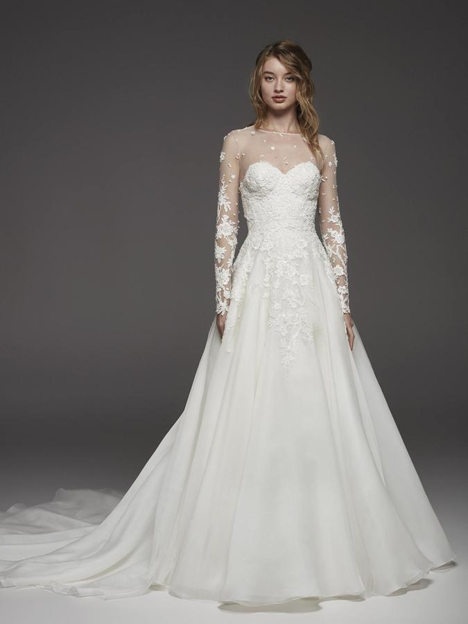 Atelier Pronovias * Svadobné šaty z kolekcií na rok 2019 - Obrázok č. 5