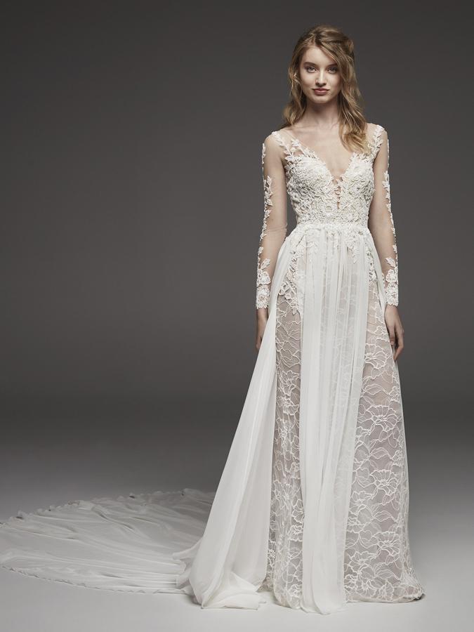 Atelier Pronovias * Svadobné šaty z kolekcií na rok 2019 - Obrázok č. 10