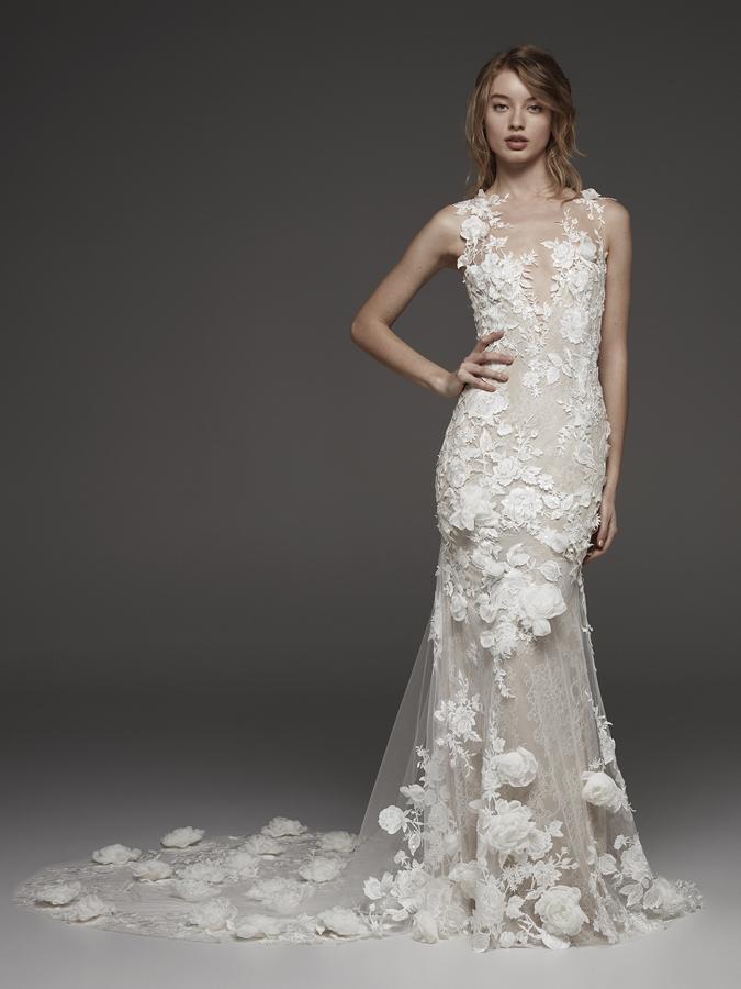 Atelier Pronovias * Svadobné šaty z kolekcií na rok 2019 - Obrázok č. 13