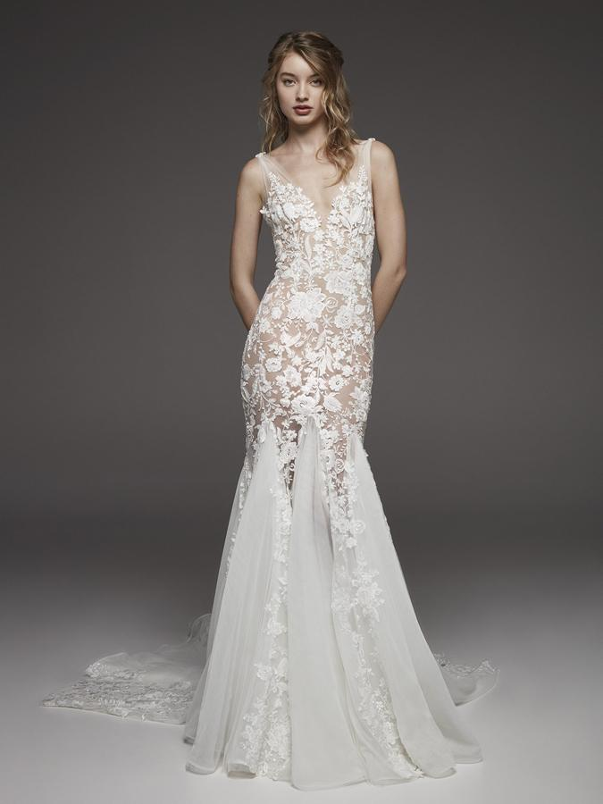 Atelier Pronovias * Svadobné šaty z kolekcií na rok 2019 - Obrázok č. 14