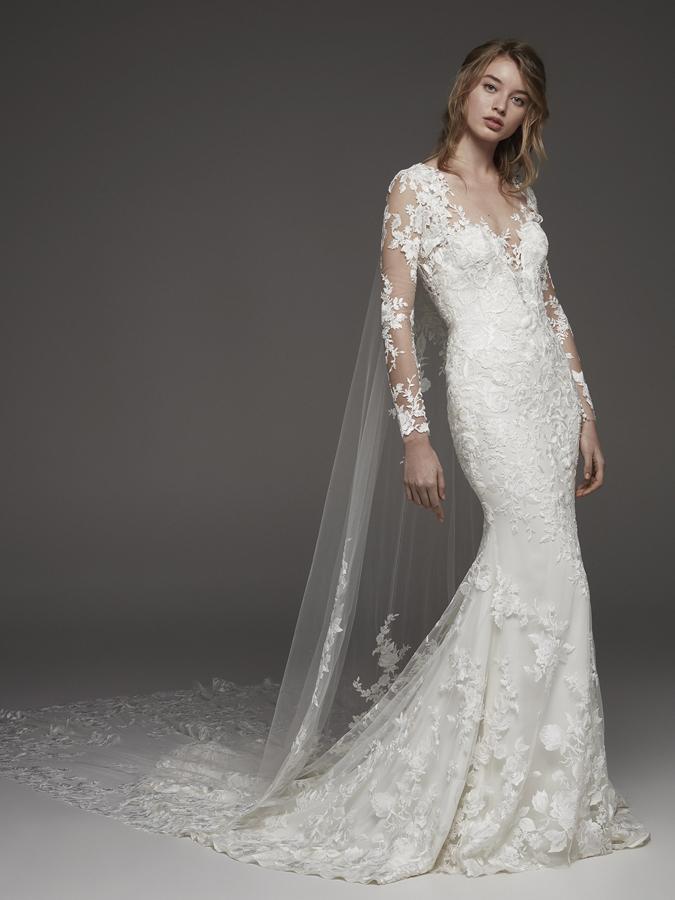 Atelier Pronovias * Svadobné šaty z kolekcií na rok 2019 - Obrázok č. 16
