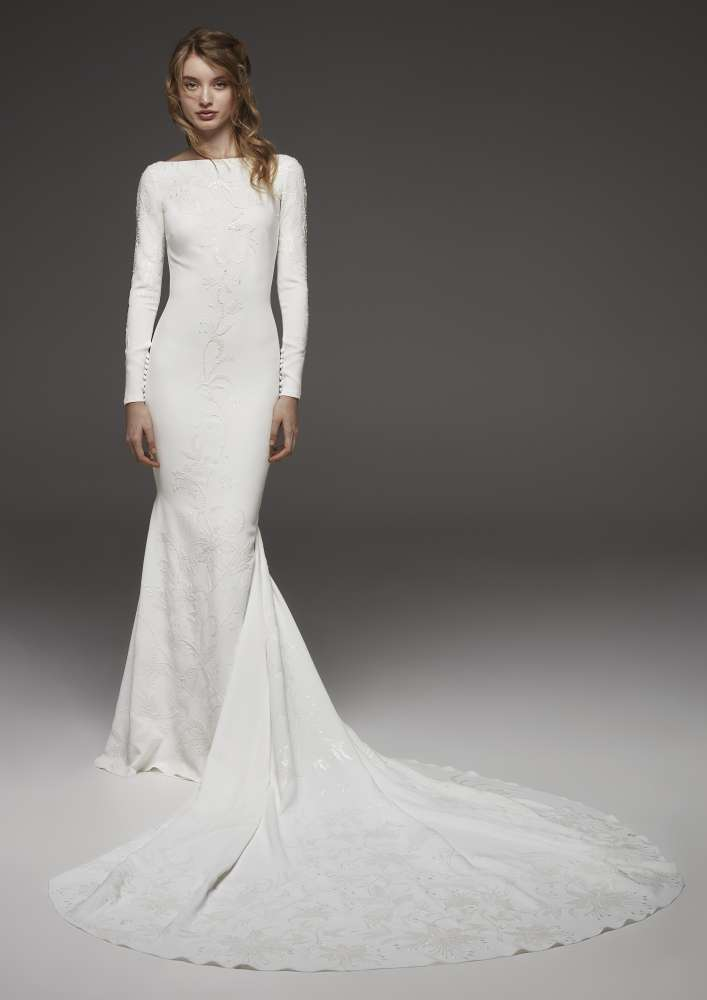 Atelier Pronovias * Svadobné šaty z kolekcií na rok 2019 - Obrázok č. 20