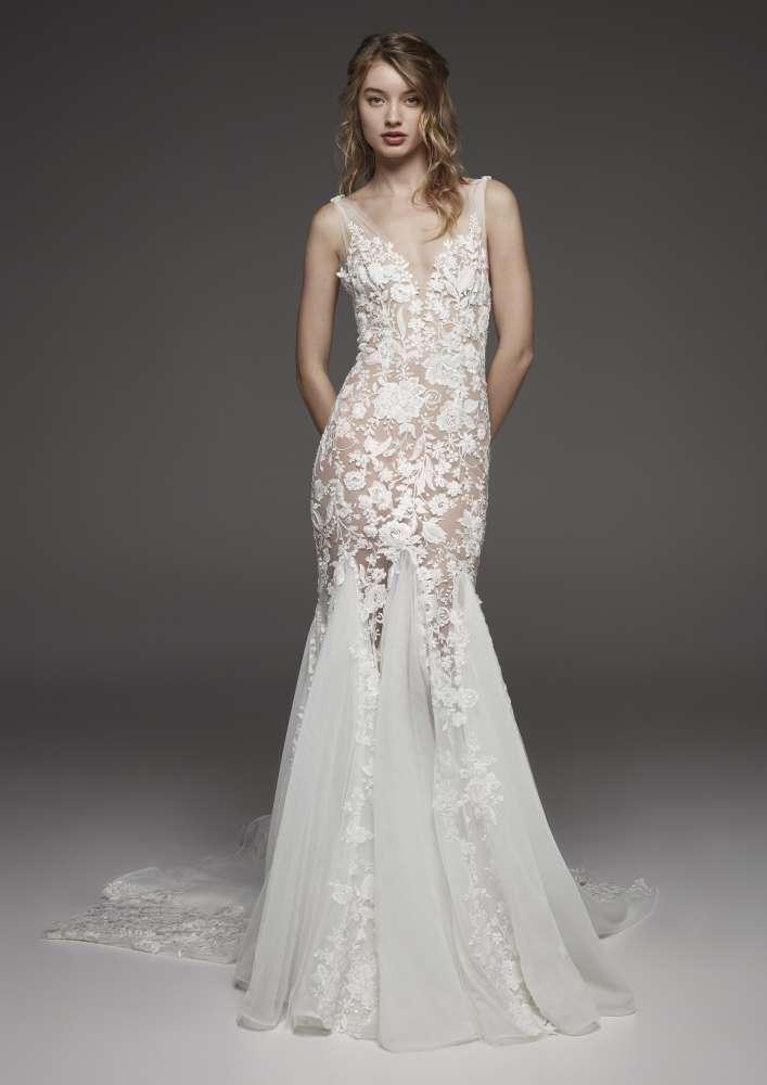 Atelier Pronovias * Svadobné šaty z kolekcií na rok 2019 - Obrázok č. 28