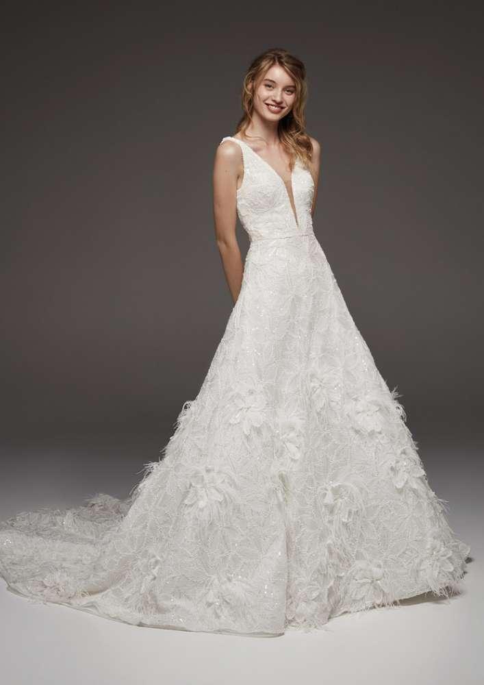 Atelier Pronovias * Svadobné šaty z kolekcií na rok 2019 - Obrázok č. 36