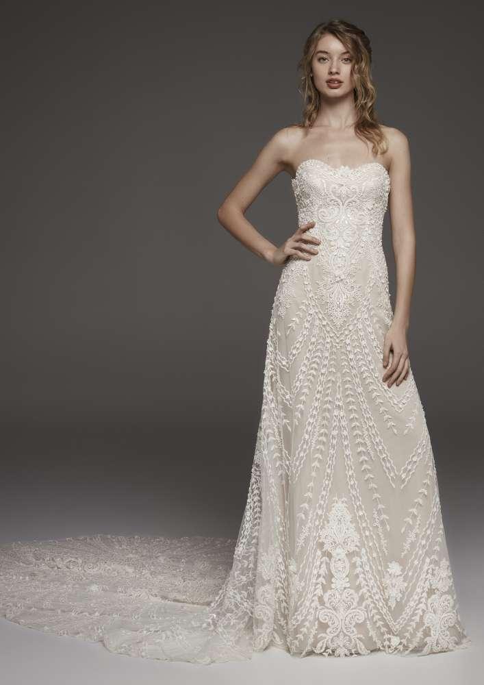 Atelier Pronovias * Svadobné šaty z kolekcií na rok 2019 - Obrázok č. 47