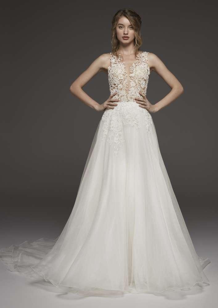 Atelier Pronovias * Svadobné šaty z kolekcií na rok 2019 - Obrázok č. 52